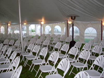 rental tents for rain cover